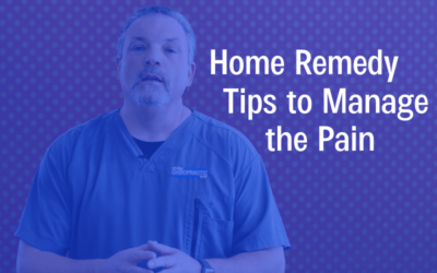 Home Remedy Tips to Manage the Pain