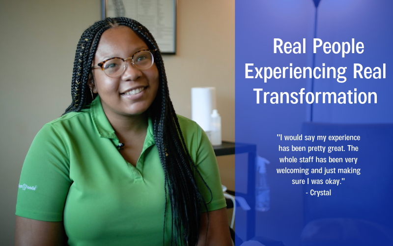 Real People Experiencing Real Transformation